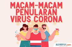 INFOGRAFIK: Macam-macam Penularan Virus Corona