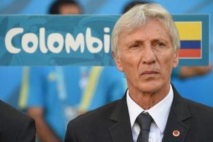 Pelatih tim nasional Kolombia, Jose Pekerman.