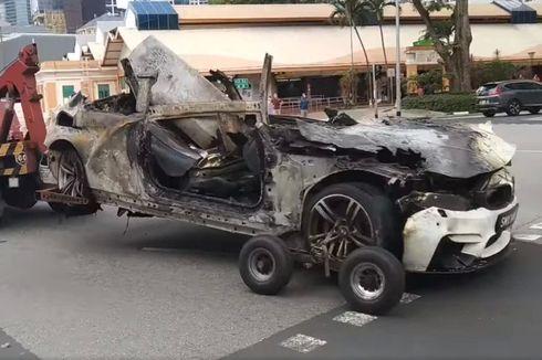 Cerita Momen Janggal Sebelum Kecelakaan Maut BMW Singapura