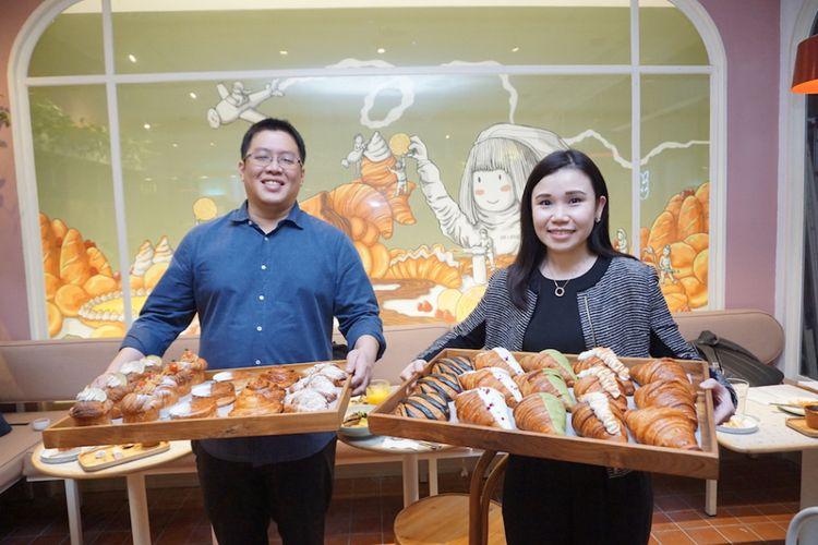 Damien Koh, Co-Founder dan Managing Director dan Dawn Wee, Co-Founder dan Marketing Communications Director, Joe & Dough