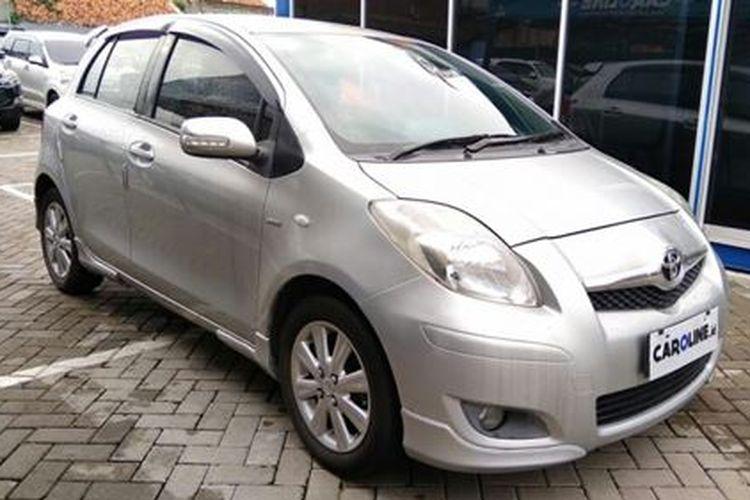Toyota Yaris generasi pertama yang kerap dijuluki Yaris Bakpao