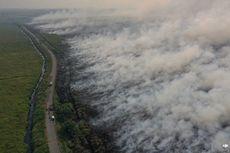 Asap Kebakaran Hutan di Sumatra dan Kalimantan Menyebar hingga ke Perbatasan Malaysia