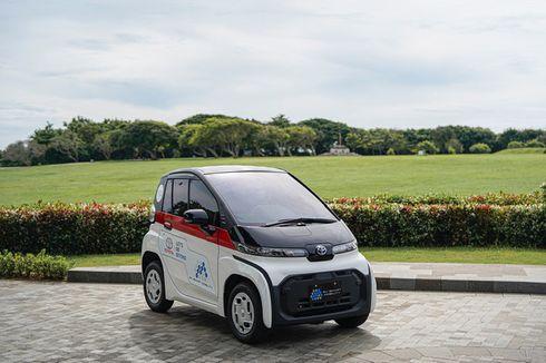 Fitur Mobil Listrik Toyota C+Pod, Sederhana ala JDM