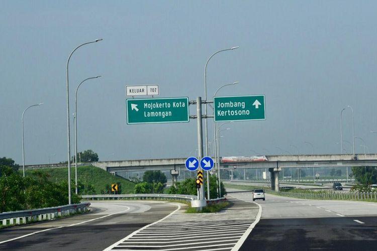 Tol Ngawi-Kertosono Segmen Wilangan-Kertosono, Jawa Timur.