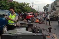 Kecelakaan Maut di Jalintim Palembang-Ogan Ilir, Ayah dan Anak Tewas di TKP