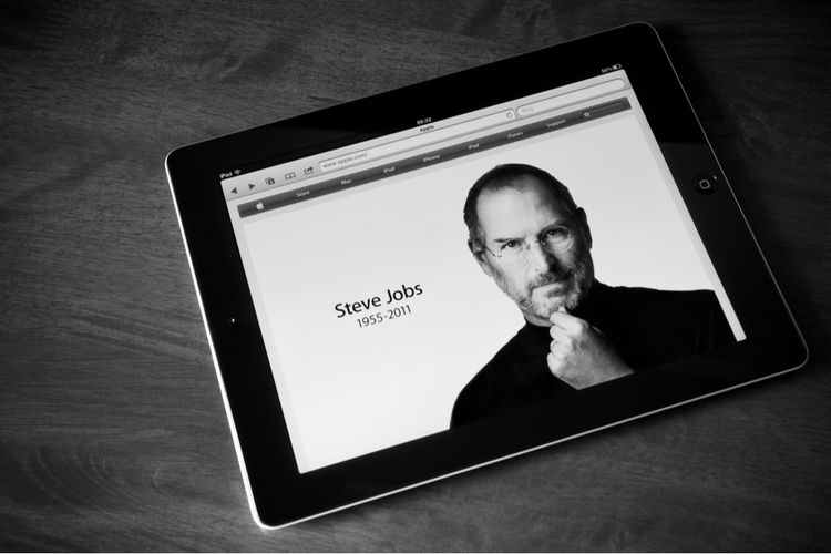 Steve Jobs pendiri Apple.
