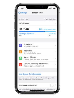 Fitur Screen Time di iPhone