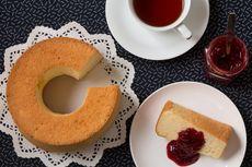 Resep Chiffon Cake 3 Telur, Pakai Topping Cream Strawberry
