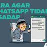 INFOGRAFIK: Cara agar WhatsApp Tidak Disadap