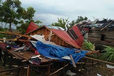 Hujan Deras Disertai Angin Puting Beliung Rusak 25 Rumah