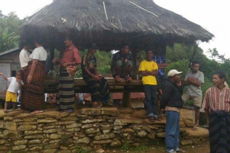 PHOTO:Kondisi Desa Waturaka, Kecamatan Kelimutu, Kabupaten Ende, Nusa Tenggara Timur (NTT)