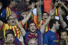 VIDEO - Rangkaian Teror Fans Barcelona untuk PSG: Diwarnai Teriakan Maling
