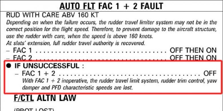 FAC fault both