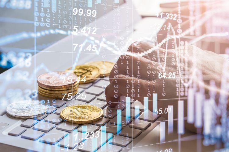 Ilustrasi ekonomi digital