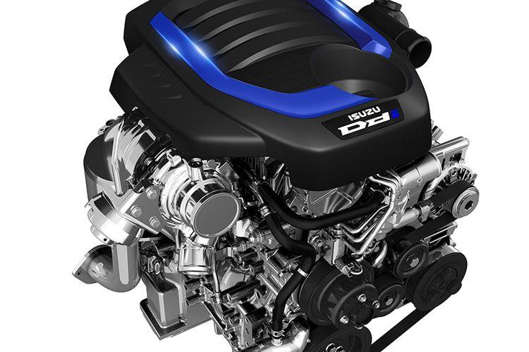Tampilan mesin diesel Isuzu MU-X generasi terbaru