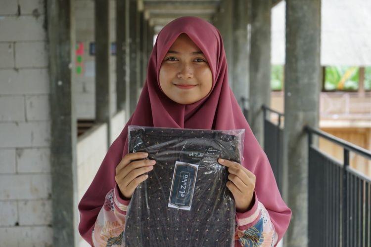 Suasana penyaluran bantuan dan santunan untuk 1.000 yatim di Wilayah Banten dari donatur masjed.id yang dikelola DD Tekno, beberapa waktu lalu.