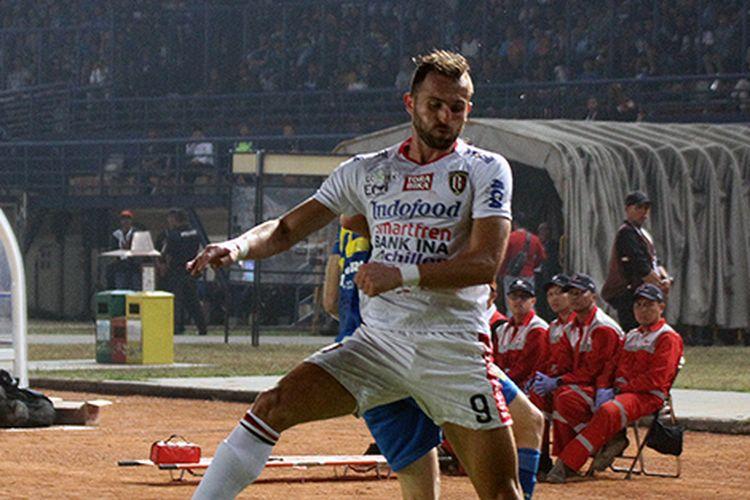 Pemain Bali United, Ilija Spasojevic.
