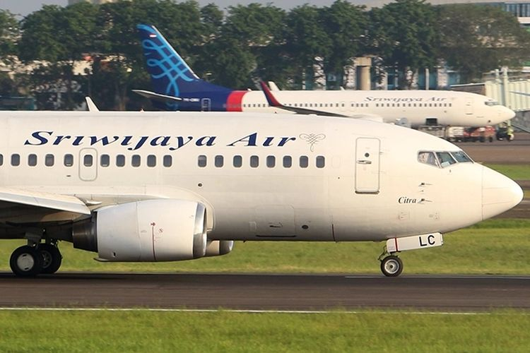 B737-500 Sriwijaya Air registrasi PK-CLC, dengan nosename Citra. Pesawat ini jatuh di perairan Kepulauan Seribu pada Sabtu (9/1/2021).