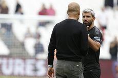 Sergio Aguero Segera Tinggalkan Man City, Tangis Pep Guardiola Pecah