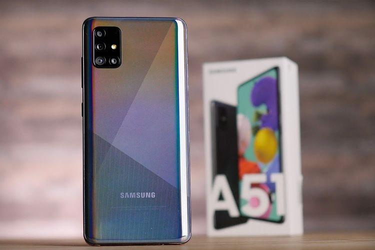 Samsung Galaxy A51 varian warna Prism Crush Black