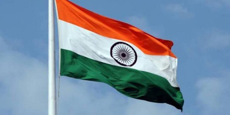 Bendera India.