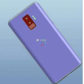 Bocoran Pemindai Sidik Jari Samsung Galaxy S9 yang berjajar vertikal