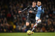 5 Hal Menarik dari Laga Man City Vs Leicester, Rekor Vardy Berlanjut