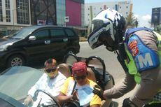 Polisi Tilang Motor Vanderhall yang Digunakan Calon Bupati Karawang