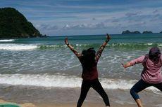 10 Hari Tercemar Lumpur, Laut Pantai Pulau Merah Kini Mulai Jernih