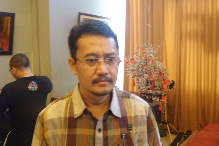 Mantan Komisioner Komisi Pemilihan Umum (KPU) Ferry Kurnia Rizkiyansyah seusai acara diskusi di kawasan Menteng, Jakarta Pusat, Sabtu (3/6/2017).