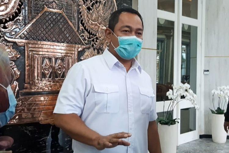 Wali Kota Semarang Hendrar Prihadi di kantornya, Rabu (3/2/2021)