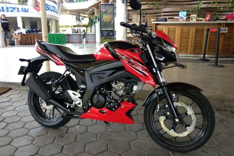 Suzuki menghadirkan Bandit 150 dengan banderol Rp 26 juta