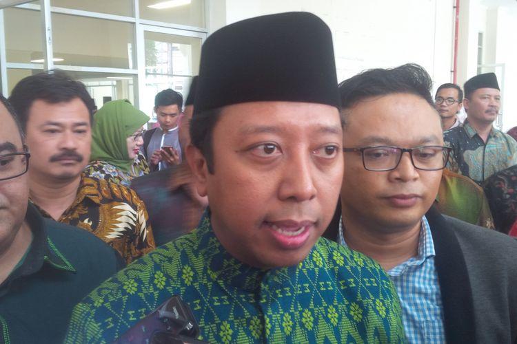 Ketua Umum DPP Partai Persatuan Pembangunan (PPP)Muhammad Romahurmuziy