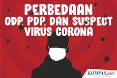 INFOGRAFIK: Perbedaan ODP, PDP, dan Suspect Virus Corona