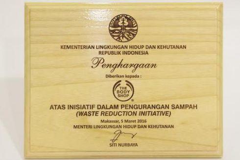 Sukses Daur Ulang Kemasan Produk, The Body Shop Indonesia Dapat Penghargaan