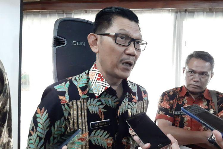 Kepala Dinas Perhubungan (Dishub) Provinsi Jawa Tengah Satriyo Hidayat saat ditemui awak media di kantor Gubernur Jateng, Rabu (18/12/2019)