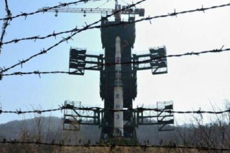 Stasiun Peluncuran Satelit Sohae di Korea Utara.