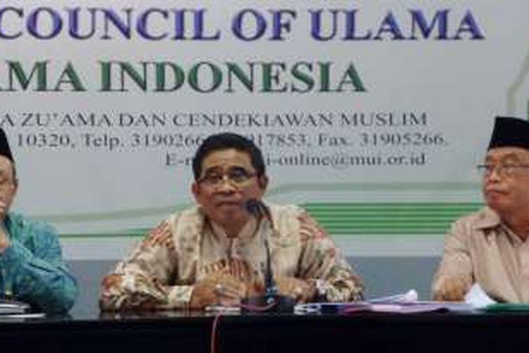 Direktur Jenderal Otonomi Daerah Kementerian Dalam Negeri Sumarsono dalam diskusi di Jakarta, Selasa (21/6/2016).