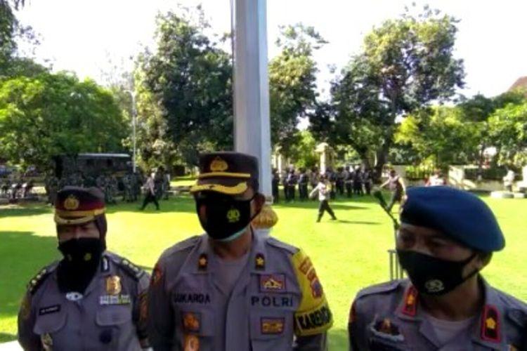 Kepala Bagian Operasional Polresta Surakarta Kompol Ketut Sukarda di Solo, Jawa Tengah, Rabu (31/3/2021).