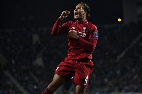 Virgil Van Dijk Sabet Gelar Pemain Terbaik Eropa 2019