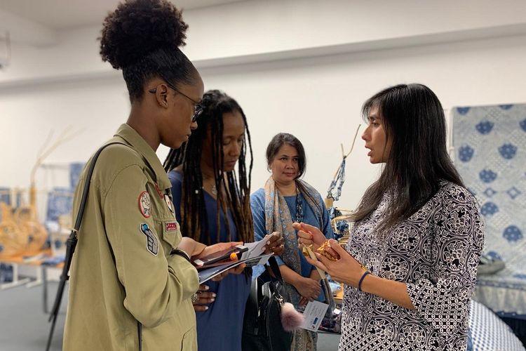 Dalam acara Festival Indonesia 2019 Jogja Kota Batik Dunia, KBRI Lisbon menginisiasi pertemuan business-to-business antara pelaku usaha Jogja dengan pengusaha Portugal yang bergerak di bisnis serupa, Senin (16/9/2019).
