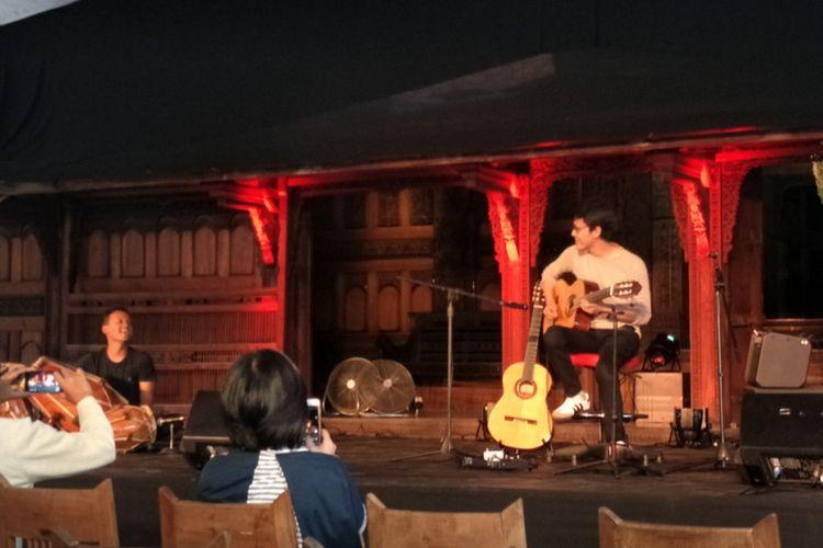 Tohpati dan Endang Ramdan tampil di Bentara Budaya Jakarta, Jalan Palmerah Selatan, Kamis (12/4/2018).