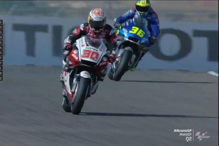 Takaaki Nakagami raih pole position pertamanya di MotoGP Teruel