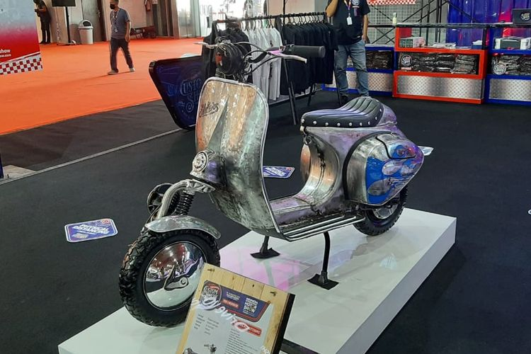Deretan motor listrik di IIMS Hybrid 2021
