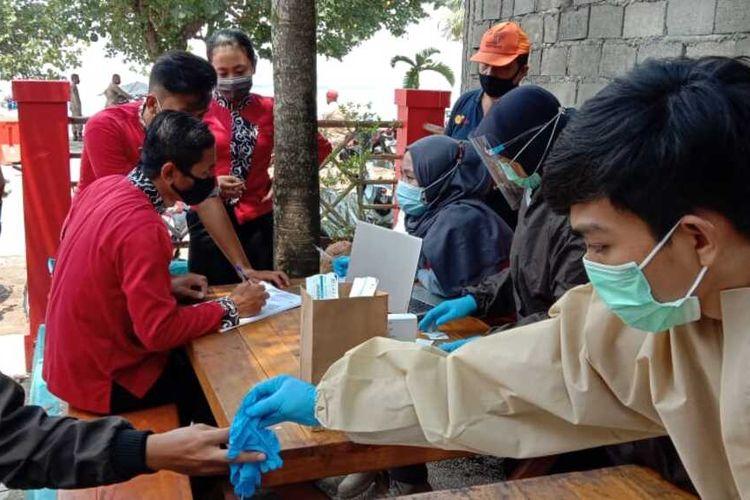 Operasi gabungan dan pelaksanaan rapid test di Kabupaten Pangandaran dan Bandung Barat, Jumat (30/10/2020).