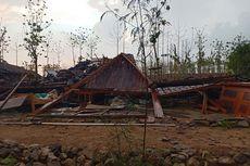 5 Rumah di Ngawi Roboh Diterjang Hujan Disertai Angin Kencang