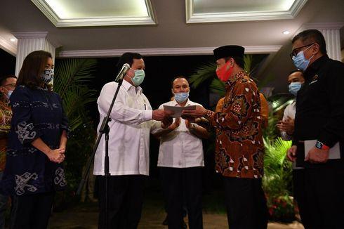 Koalisi dengan PDI-P di Pilkada Tangsel, Prabowo: Ini Kebersamaan...