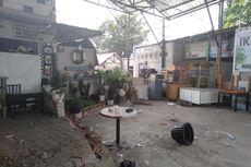 BERITA FOTO: Menengok Kafe Komandan yang Berantakan Setelah Bentrok Suporter Persija dan PSM