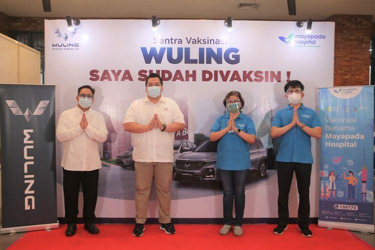 Wuling berkolaborasi dengan Mayapada Hospital dalam rangka mendukung percepatan vaksinasi