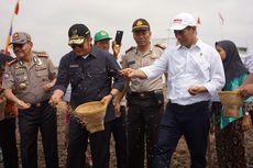 Mentan: Garap 200 Ribu Hektar Lahan Rawa, Penghasilan Sumsel Naik Rp 14 Triliun